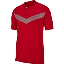 Nike Gym Red-Black TW Dri-Fit Vapor Reflective Bold Polo