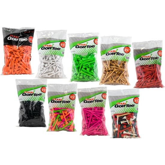 Pride Sports Deluxe 2-1/8 Inch Tees - 125 Count