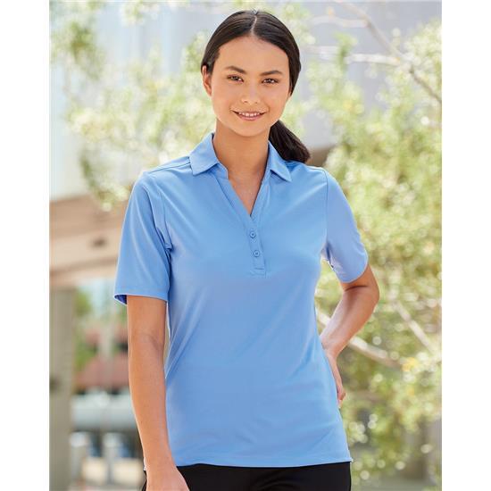 Prim + Preux Women's Dynamic Y-Neck Sport Shirt