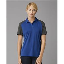 Prim + Preux Custom Logo Women's Energy Color Block Polo