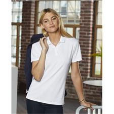 Prim + Preux Custom Logo Women's Smart Polo