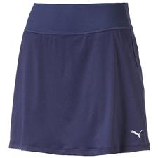Puma Peacoat Pwrshape Solid Knit Skirt for Women