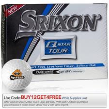 Srixon Q-Star Tour 2 Custom Logo Golf Balls
