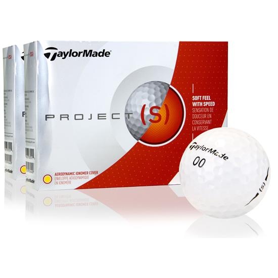 Taylor Made Project (s) Golf Balls - 2 Dozen