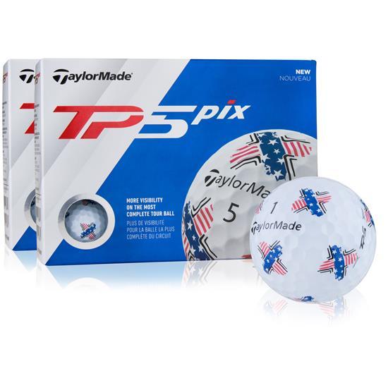 Taylor Made TP5 Pix USA Double Dozen Golf Balls