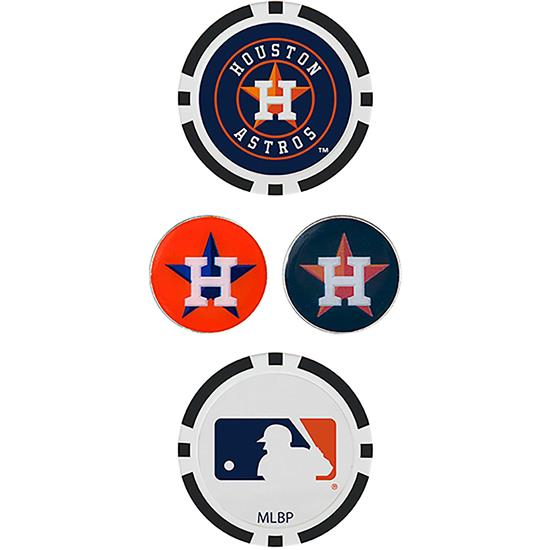 Team Effort Ball Marker Set - 4 Markers