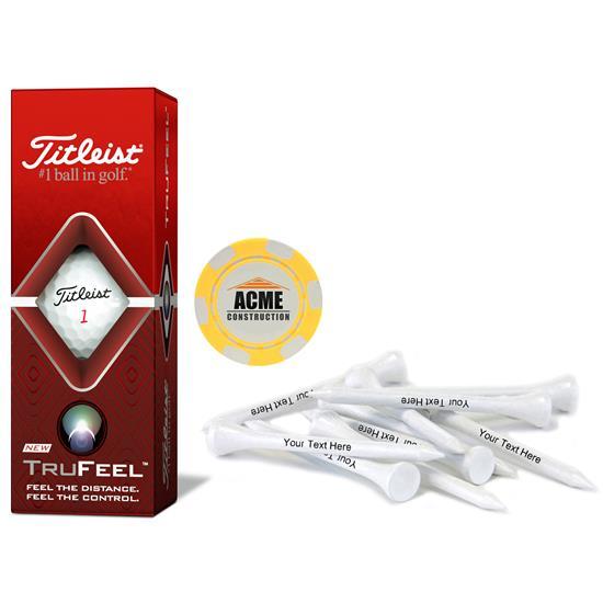 Titleist Sleeve, Chip Marker and Tee Kit