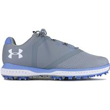 Under Armour Steel-Talc Blue-White Fade RST Golf Shoe for Women