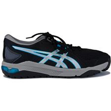 ASICS Black-Silver-Blue Asics Gel-Course Glide Golf Shoes