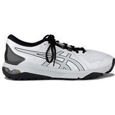 ASICS White-Silver-Black Asics Gel-Course Glide Golf Shoes