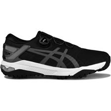 ASICS Black-Grey-White  Gel-Course Duo BOA Golf Shoes