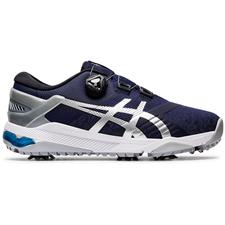 ASICS Navy-Grey-White  Gel-Course Duo BOA Golf Shoes
