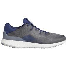 Adidas Metal Grey-Grey Three-Tech Indigo Crossknit DPR Golf Shoes