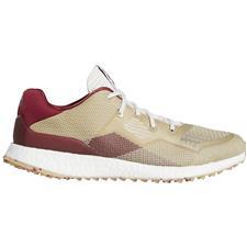 Adidas Chalk White-Collegiate Burgundy-Savannah Crossknit DPR Golf Shoes