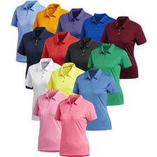 Adidas Custom Logo Performance Polo for Women