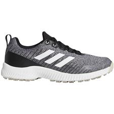 Adidas Core Black-White-Clear Brown Response Bounce Spikeless 2.0 Golf Shoes for Women