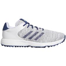 Adidas White-Tech Indigo-Grey Two S2G Golf Shoes