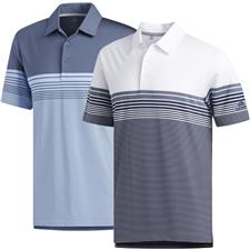 Adidas Men's Ultimate365 Gradient Block Stripe Polo