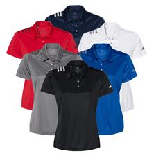 Adidas Custom Logo Women's 3-Stripes Shoulder Sport Shirt