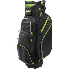 BagBoy Chiller Cart Bag - Black-Lime-Silver