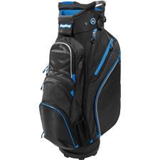 BagBoy Chiller Cart Bag - Black-Royal-Silver