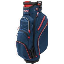 BagBoy Chiller Cart Bag - Navy-Red-White