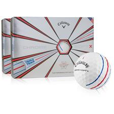 Callaway Golf Chrome Soft X Golf Balls w/Triple Track - 2 Dozen