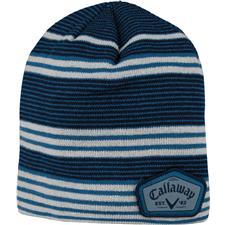 Callaway Golf Men's Winter Chill Beanie - Blue-Silver-Navy