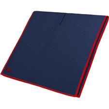 Club Glove Microfiber Monogram Caddy Towel - Navy-Red