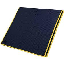 Club Glove Microfiber Monogram Caddy Towel - Navy-Yellow