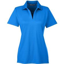 Devon & Jones Custom Logo CrownLux Performance Polo for Women