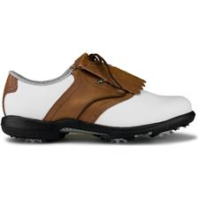 FootJoy 10 DryJoys Leather Golf Shoes for Women