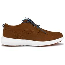 FootJoy Tan Suede Previous Season FJ Flex Limited Edition Golf Shoes