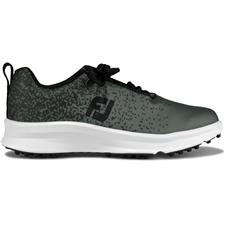 FootJoy Black-Charcoal FJ Leisure Golf Shoes for Women