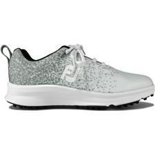 FootJoy Silver-White Previous Season FJ Leisure Golf Shoes for Women