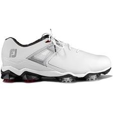 FootJoy White-Red Tour X Golf Shoes