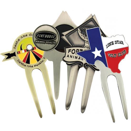 Logo Golf Custom Cast Divot Tool