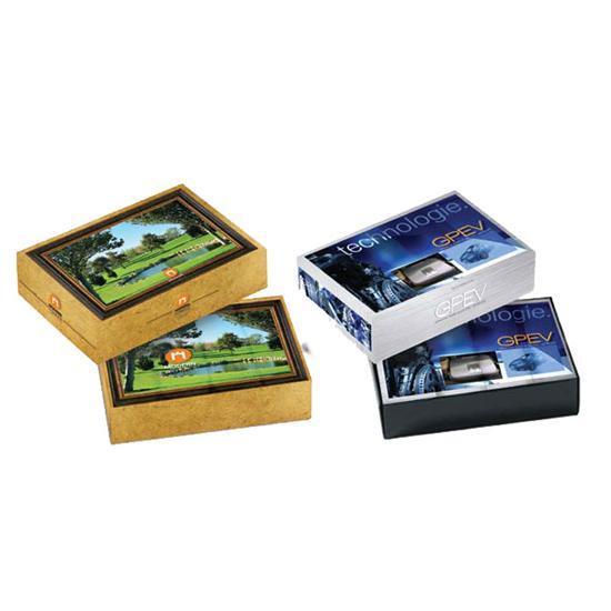 Logo Golf Dozen Custom Packaging - Top & Bottom