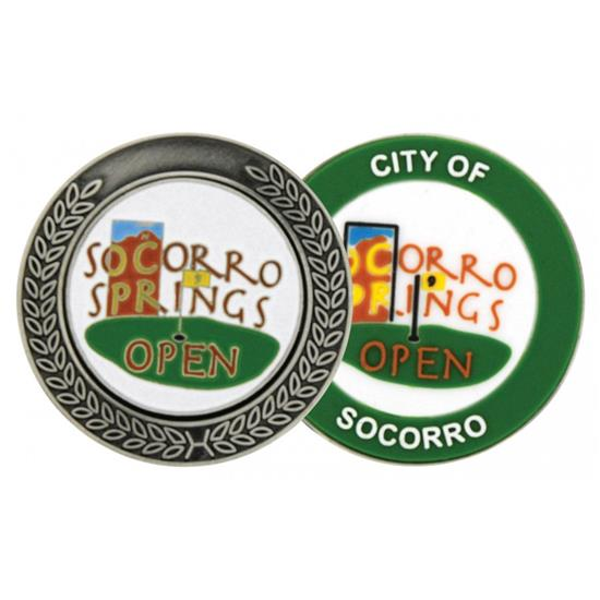 Logo Golf MegaMarker Ball Marker