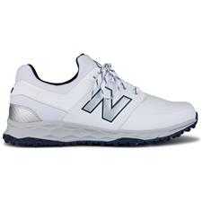 New Balance White-Navy Fresh Foam Links Spikeless Golf Shoe