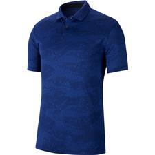 Nike Blue Void-Deep Royal-Blue Void Dry Vapor Camo Jacquard Polo
