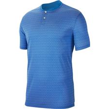 Nike Pacific Blue-Pure-Pacific Blue Dry Vapor Textured Bold Polo