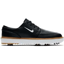 Nike Black-Metallic White-Vachetta Tan Janoski G Tour Golf Shoes
