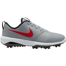 Nike Particle Grey-University Red-White Roshe G Tour Golf Shoes