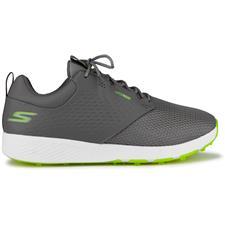 Skechers Gray-Lime Go Golf Elite V.4 Prestige RF Golf Shoe