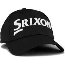 Srixon Men's Unstructured Core Hat - Black-White
