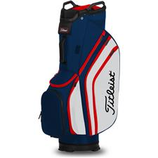 Titleist Cart 14 Lightweight Personalized Cart Bag - Navy-White-Red