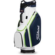 Titleist Cart 14 Lightweight Cart Bag - White-Navy-Apple