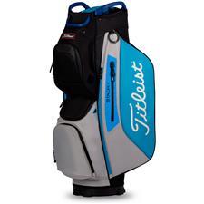 Titleist Cart 15 StaDry Cart Bag - Black-Process Blue-Grey