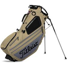 Titleist Hybrid 14 Stand Bag - Khaki-Charcoal